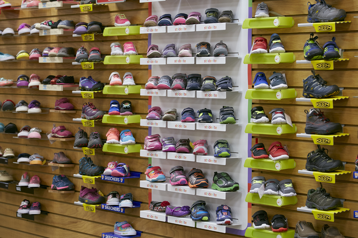 Reds Dover childrens shoe selection
