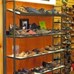 Ladies Clark Shoe Display