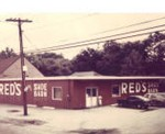 Red's Shoe Barn in 1972
